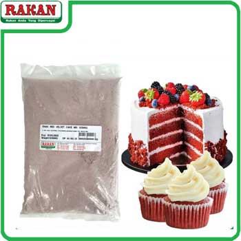 ENAK RED VELVET CAKE MIX 500G