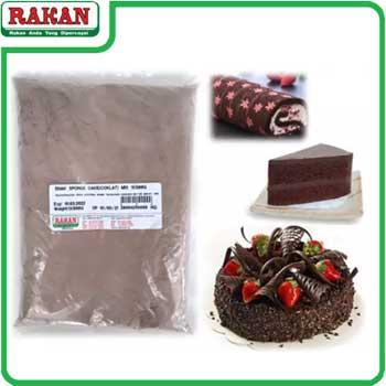 ENAK SPONGE CAKE(COKLAT) MIX 500G